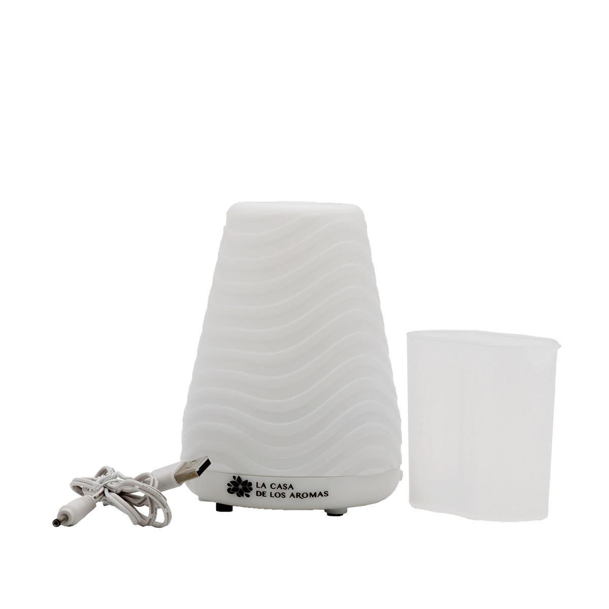 con Luz Nocturna 3 Modos Delgeo Humidificador Dom/éstico de Gran Capacidad 3L,Difusor de Aroma Neblinoso