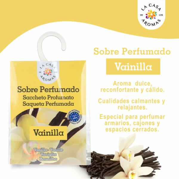 Sobre Perfumado Vainilla