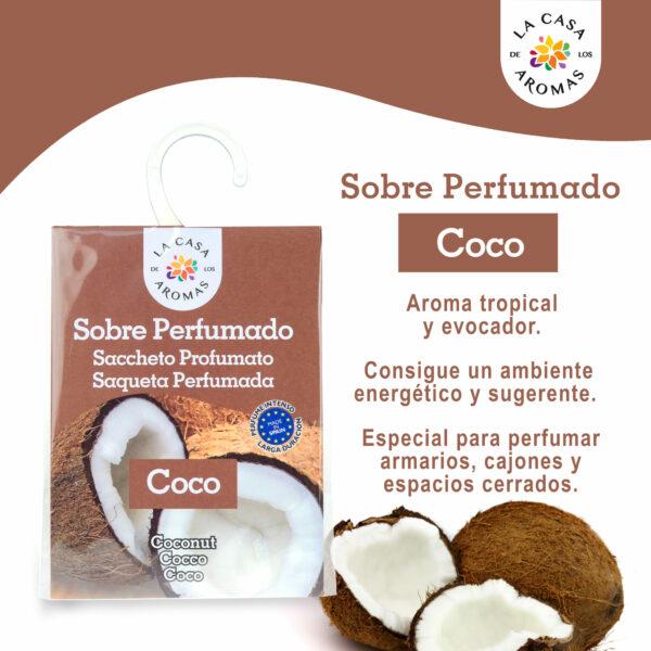 Sobre perfumado coco