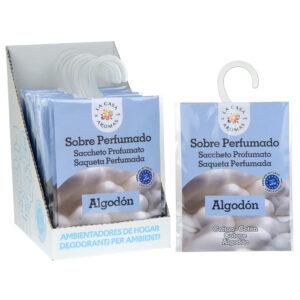 Sobre perfumado algodon