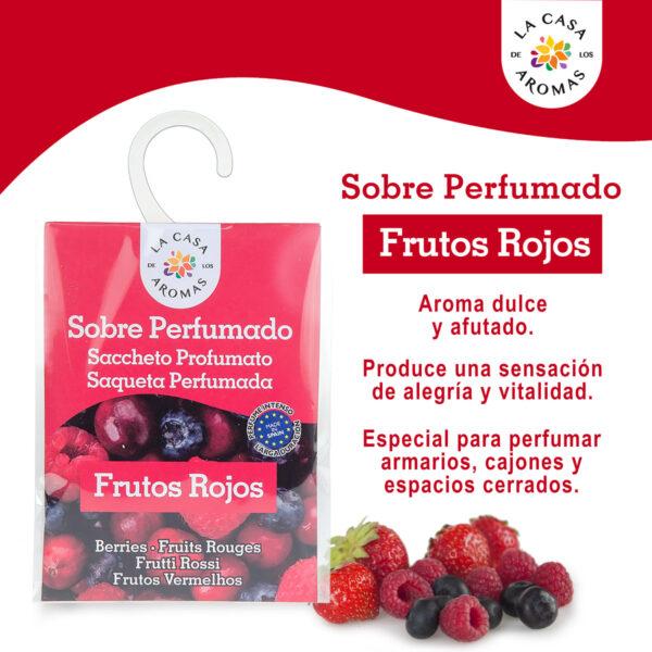Sobre Perfumado Frutos Rojos