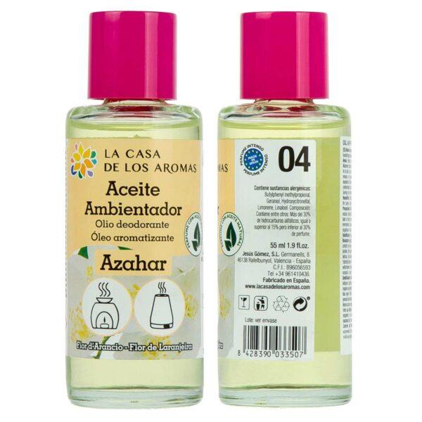 Aceite ambientador Azahar