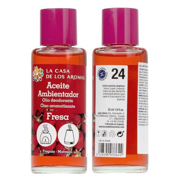 Aceite ambientador Fresas