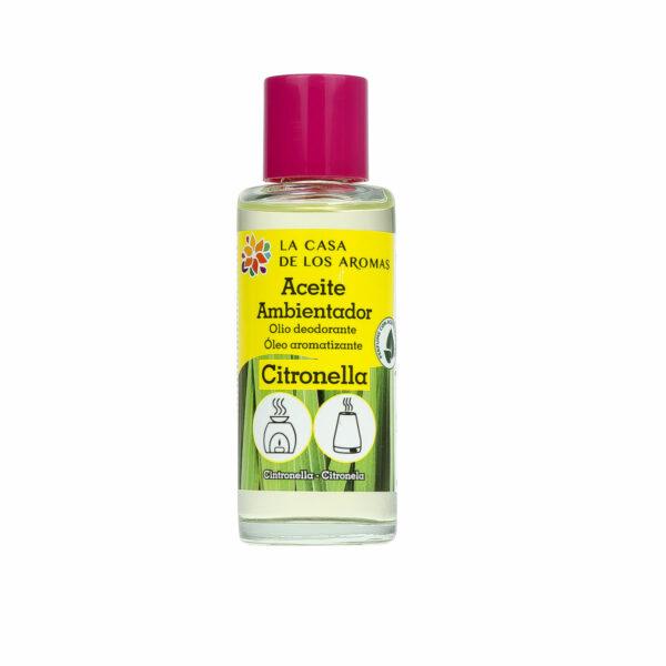 Aceite de citronela para ambientador