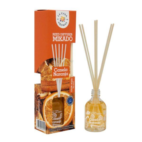 Ambientador Mikado Canela Naranja