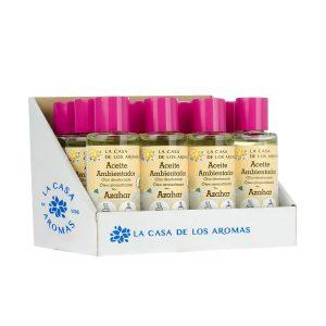 Aceite azahar expositor