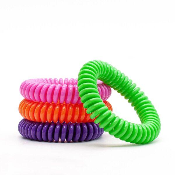 Pulsera Espiral Citronela