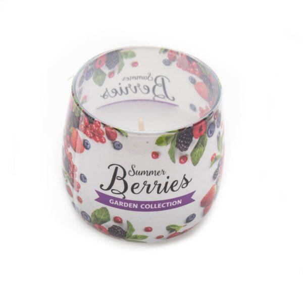 Vaso Vela Perfumada Berries