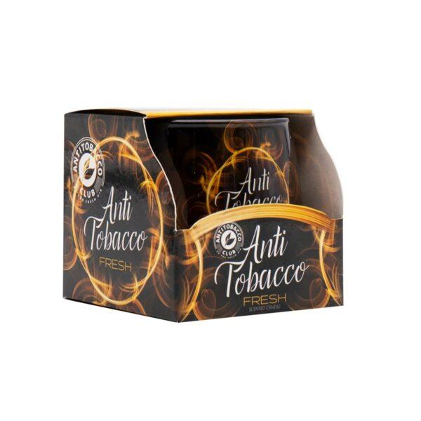 Vaso Vela Perfumada Anti-tabaco