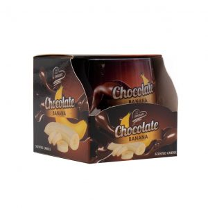 Vaso Vela Perfumada Chocolate