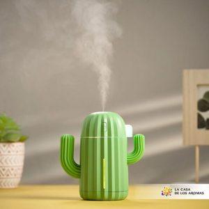 Humificador decorativo con forma de cactus