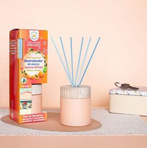 Neutralizador de olores para espacios difíciles