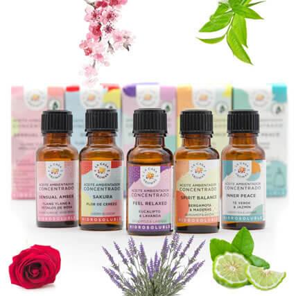 Aceites esenciales de La Casa de los Aromas