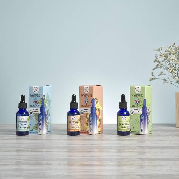 Aceites esenciales purificadores