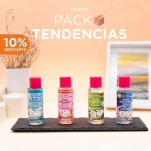 Pack tendencias aceite ambientador