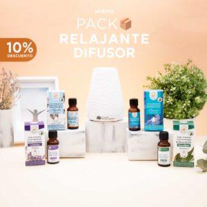 Pack relajante difusor de aromas