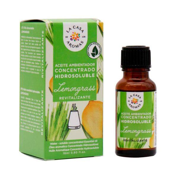 aceite ambientador concentrado lemongrass