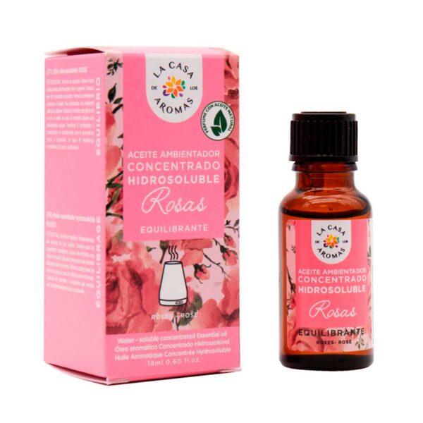 aceite ambientador concentrado rosas