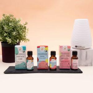 Aromas esenciales que puedes usar con un difusor