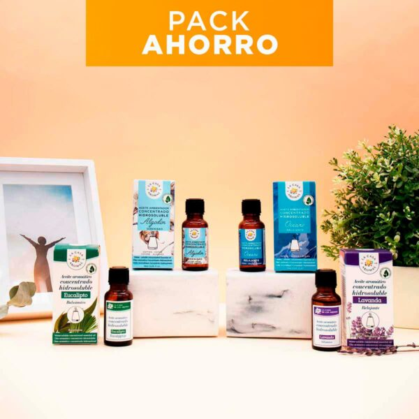 Pack relajante aceites hidrosolubles