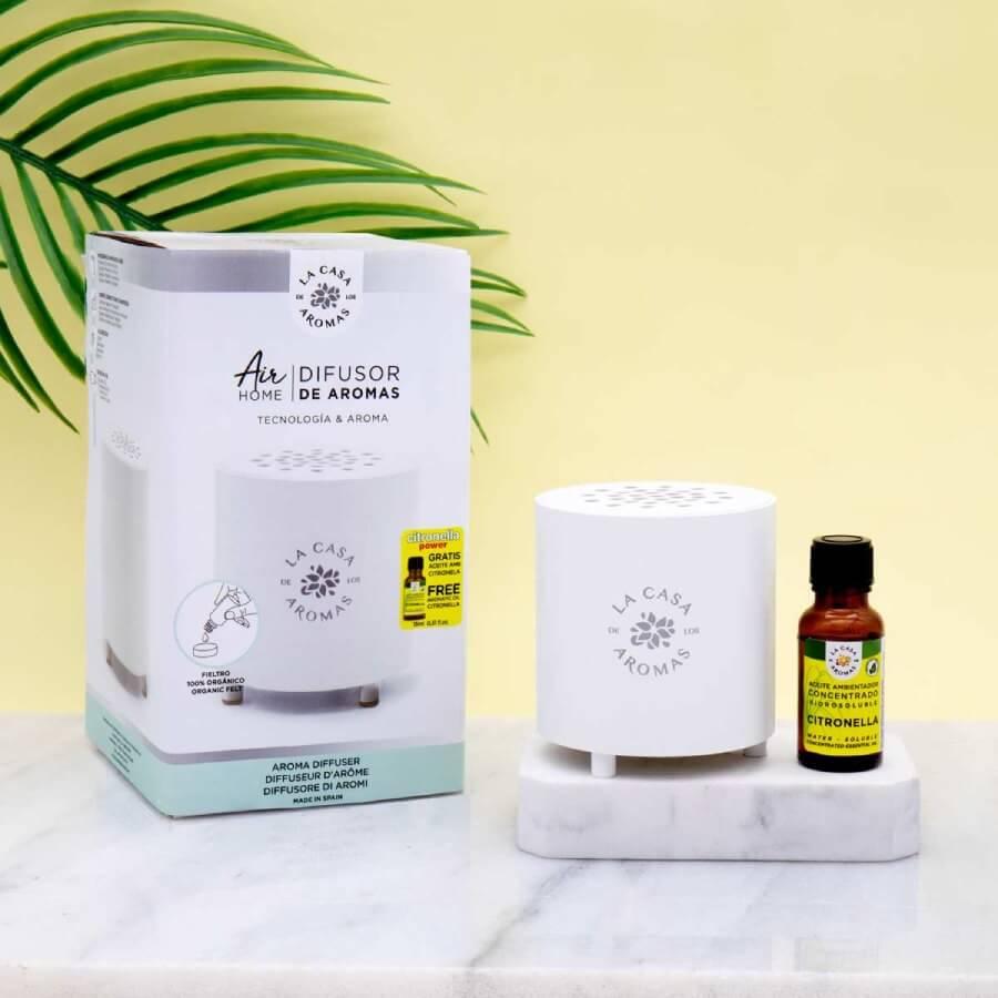 Difusor y aceite esencial de citronela