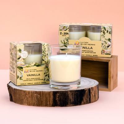 velas perfumadas de vainilla