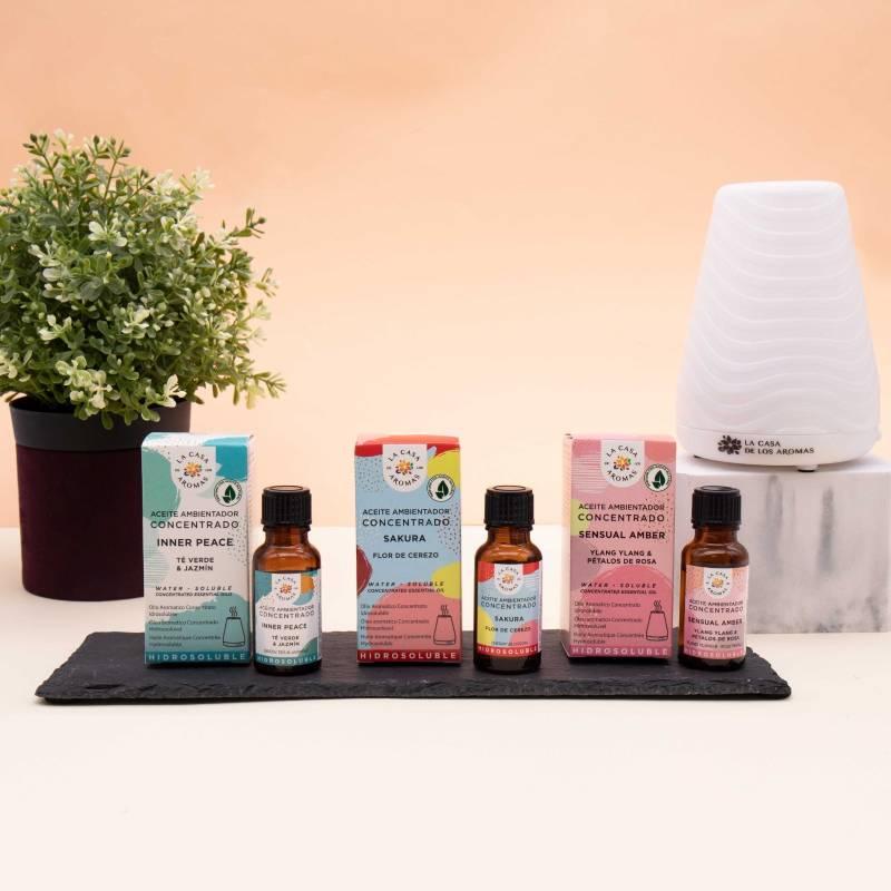 Aceites esenciales que puedes usar como ambientadores