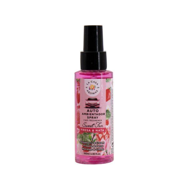 spray ambientador auto fresa