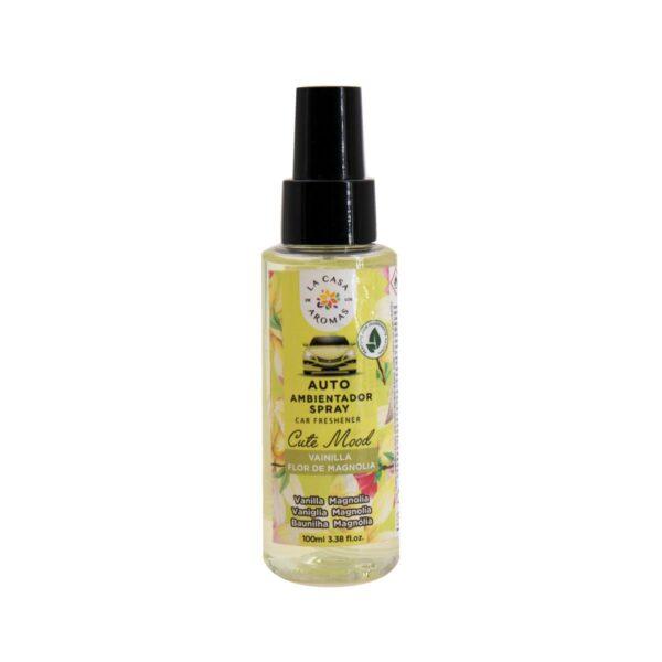 spray ambientador auto vainilla