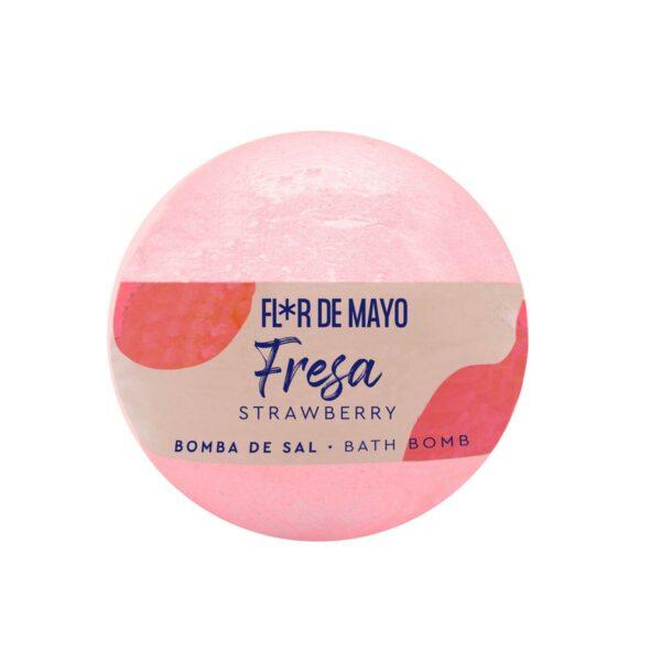 Bomba sal efervescente Fresa