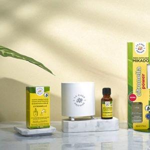Protección Natural Citronela y Geranio