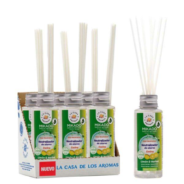Neutralizador de olores Mikado limon y herbal