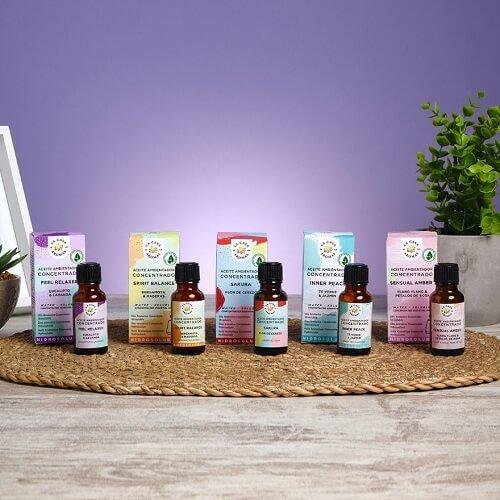Aromas para humidificadores contra los malos olores