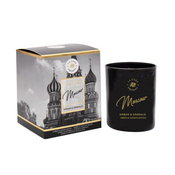Vela perfumada Travel Moscow