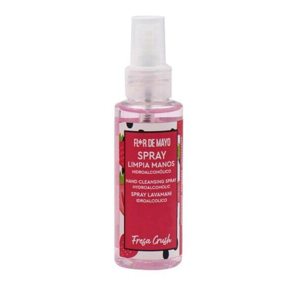 Spray Hidroalcohólico Limpia Manos Fresa Crush